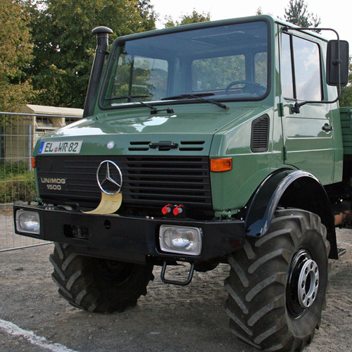 Couch off road engineering for Mercedes benz unimog for sale usa